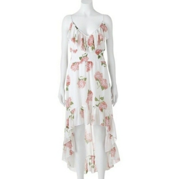f70b0a9a5510 HeartSoul Dresses & Skirts - Flowy Feminine High Low Floral Dress Heart Soul